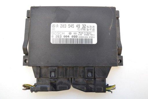 Calculator cutie automata Mercedes c class 320 cdi w203 A2035454932