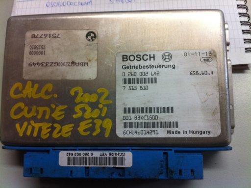 Calculator cutie viteze Bmw E39 520i 2002 cod 0260002642