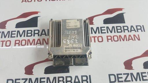 Calculator ECU BMW E46 320d 150cp 2002 DDE7789572 / 0281010565