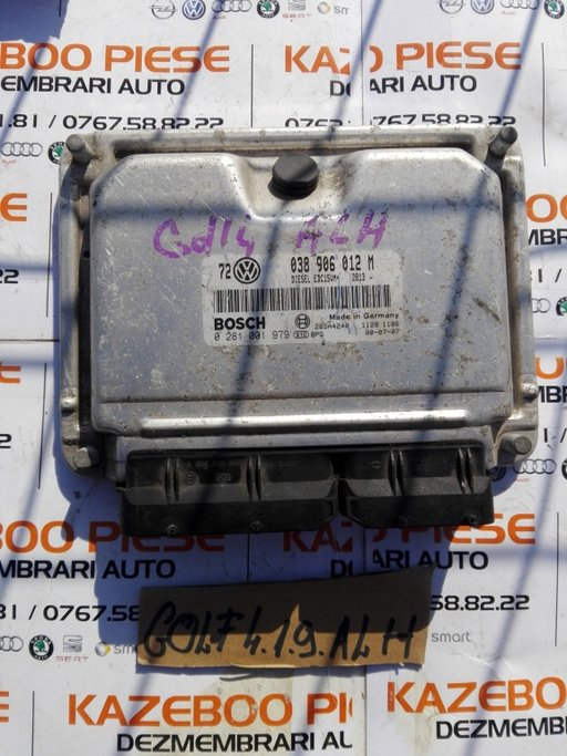 Calculator ECU VW golf 4 ALH Cod 038906012m
