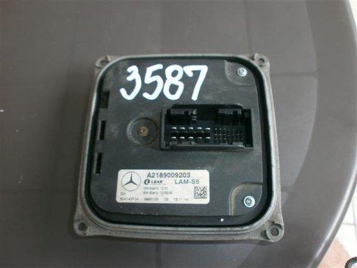 Calculator Led / Droser led cod A2189009203 Mercedes CLS W218 an 2011-2014