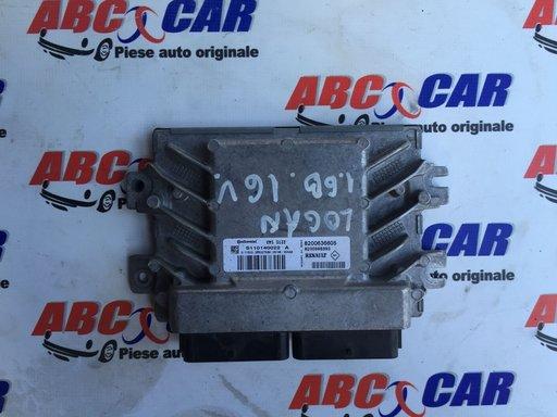 Calculator motor Dacia Logan 1.6 16V Cod: S110140022A