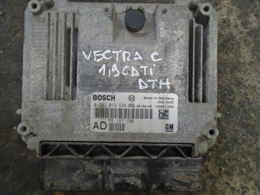 CALCULATOR MOTOR ECU OPEL VECTRA C 1,9 CDTI DTH