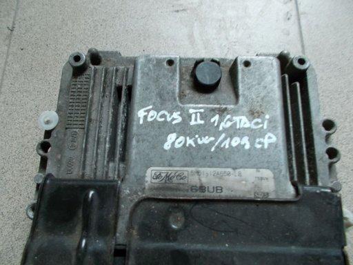 CALCULATOR MOTOR FORD FOCUS II 1,6 TDCI