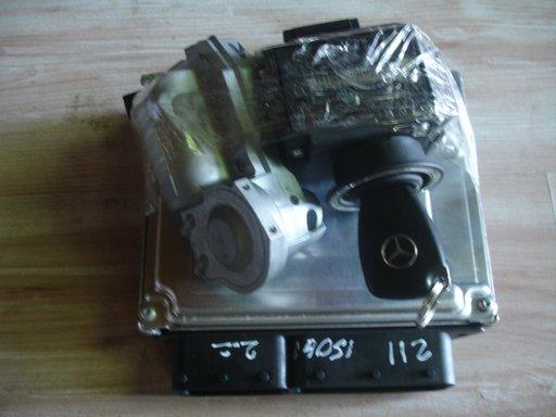 Calculator motor kit complet pornire mercedes e class w211 c class w203 2.2 cdi 150 hp an 2002-2006
