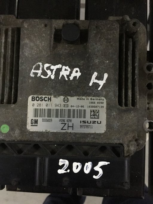 Calculator motor Opel Astra H 1.7 2005 8973785711