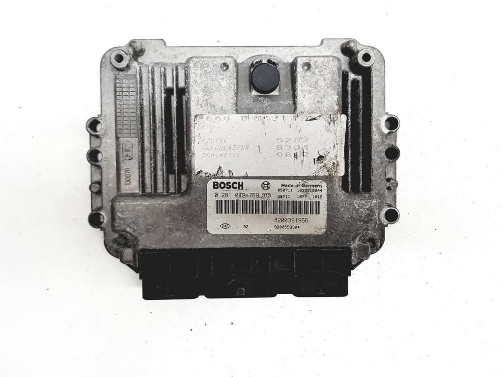 Calculator motor Renault Scenic 2003 1.9 Diesel Cod Motor F9Q(812)