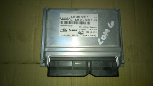 Calculator Suspensie Audi A8 4 0 diesel 2003 2008
