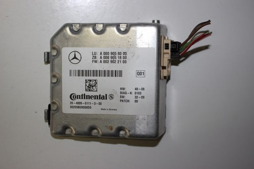 Camera video frontala cu modul Mercedes Clasa M W166 A0009050438