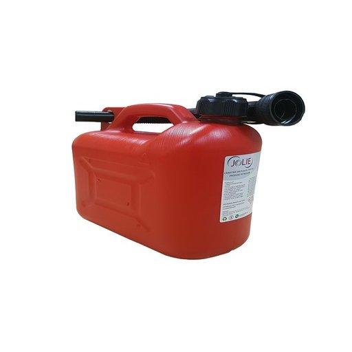 Canistra plastic produse petroliere / combustibil 5 Litri JOLIE (45147) - GAMA STANDARD