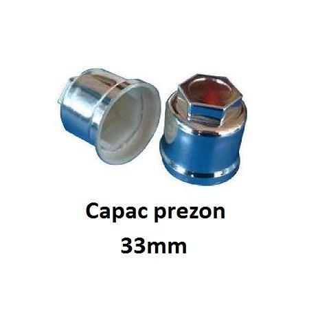 Capac / capace cromate protectie prezon camioane 33 mm | Piese Noi | Livrare Rapida