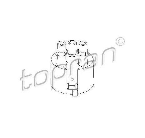 Capac distribuitor SEAT ALHAMBRA ( 7V8, 7V9 ) 04/1996 - 03/2010 - producator TOPRAN 100 980 - 301564 - Piesa Noua