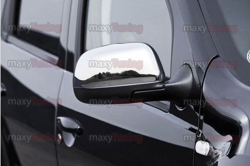 Capace oglinda din inox Dacia Duster 2010->