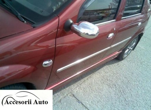 Capace oglinda inox Dacia Logan 2005-2008