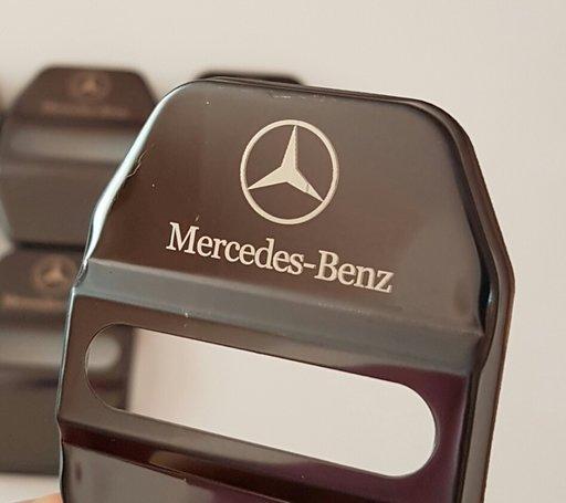 Capace ornament protecție incuietoare usi cu logo Mercedes W204 W203