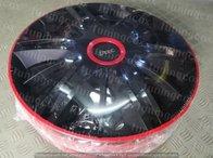Capace roti 15 negre cu buza rosie maximus