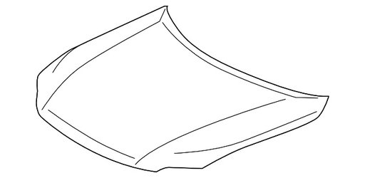 Capota fata LEXUS RX 350-450 2011,2012,2013 cod 53301-0E070
