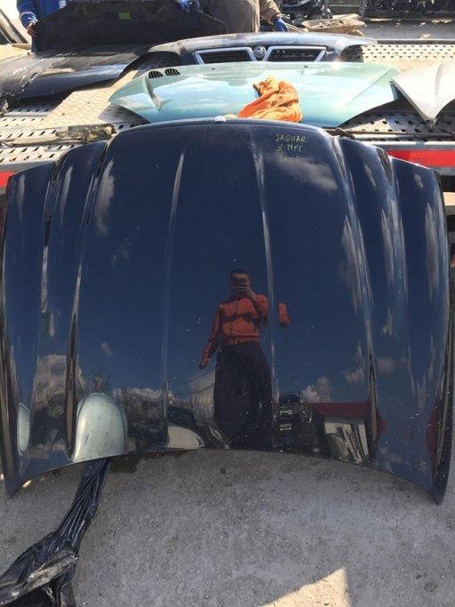 Capota Jaguar X-Type culoare neagra an 2005