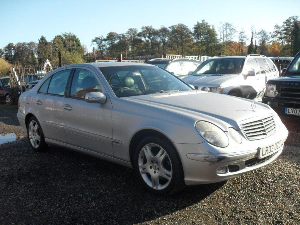 Capota Mercedes E-CLASS W211 2004 Berlina 2,2
