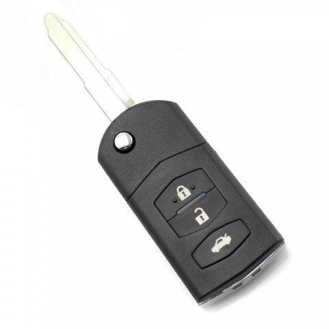 Carcasa cheie tip briceag Mazda, 3 butoane, model
