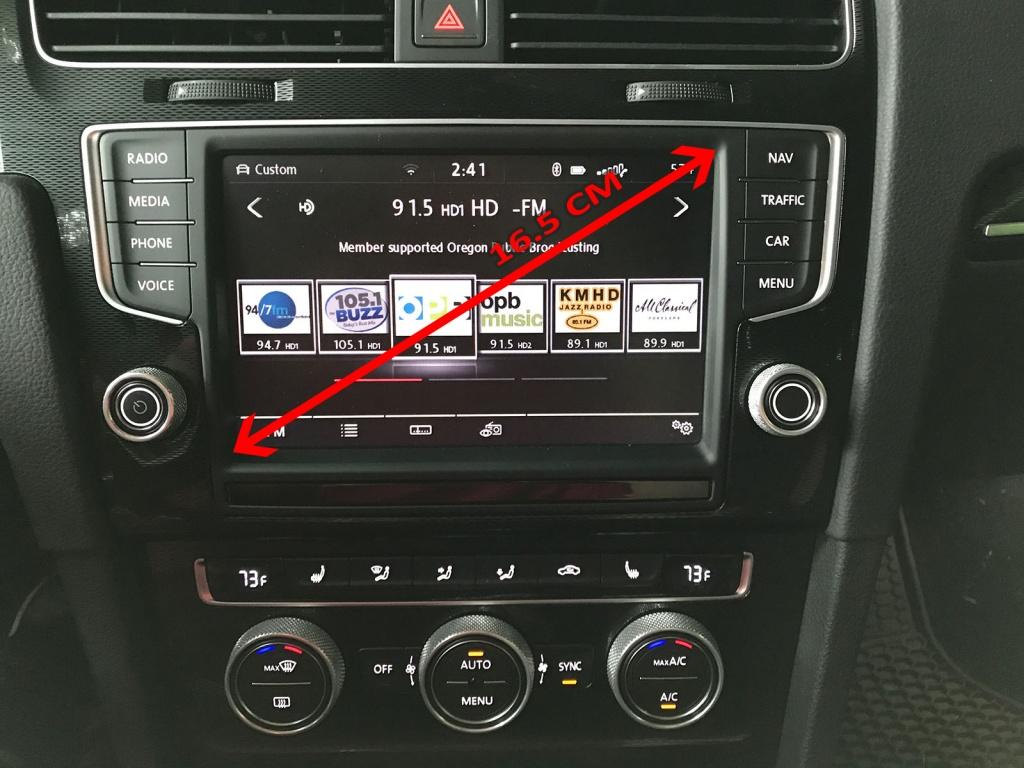 Wonderbaarlijk Card navigatie VW 2018-2019 Discover Media MIB2 Arteon Golf 7 UR-05
