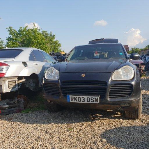 Carenaj aparatori noroi fata Porsche Cayenne 2004 Turbo S 331 kw 4.5