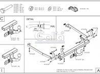 Carlig Remorcare Citroen C8 (demontabil automat)