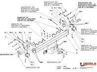 Carlig Remorcare Mazda B2500 1999-