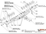 Carlig Remorcare MERCEDES SPRINTER furgon fara scara 95-06 (Hakpol)
