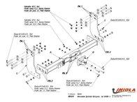 Carlig Remorcare MERCEDES SPRINTER Platforma 4,6t 5t, 2006- (Hakpol)
