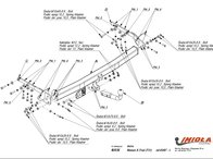 Carlig Remorcare Nissan X-Trail (T31) 2007- (Hakpol)