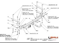 Carlig Remorcare OPEL VECTRA B 1995-2003 (Hakpol)