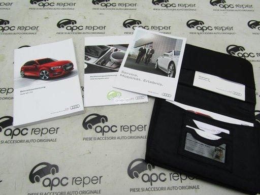 Carte - Mapa documente - manuale Audi A3 8V Sportback