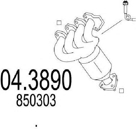 Catalizator OPEL CORSA C ( F08, F68 ) 09/2000 - 12