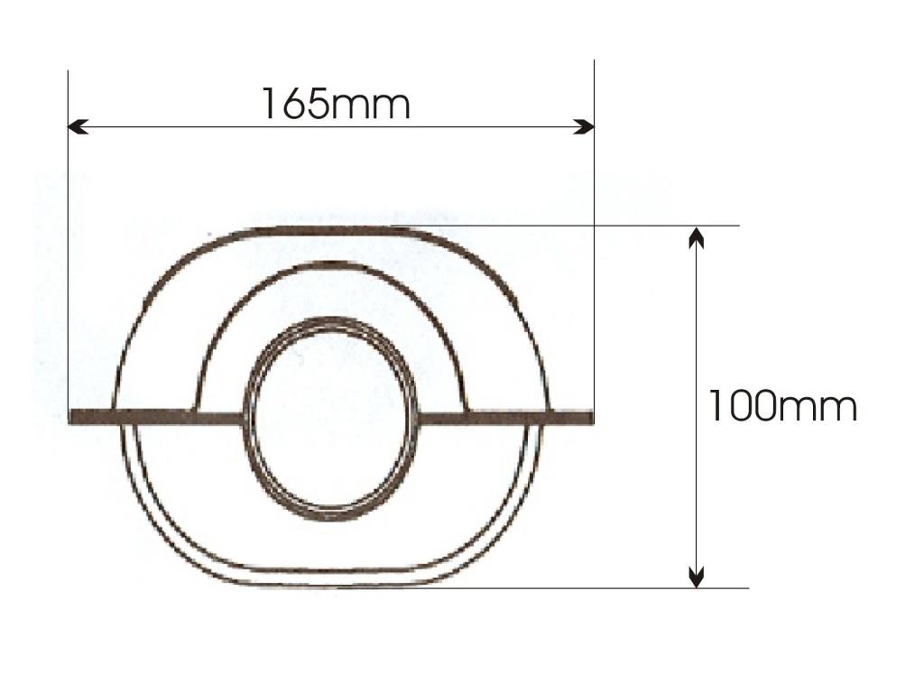 Catalizator universal OVAL - Producator Bosal