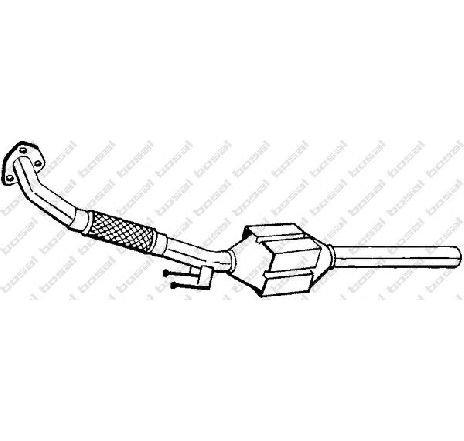 Catalizator VW BORA ( 1J2 ) 10/1998 - 09/2005 - producator BOSAL 099-998 - 303884 - Piesa Noua