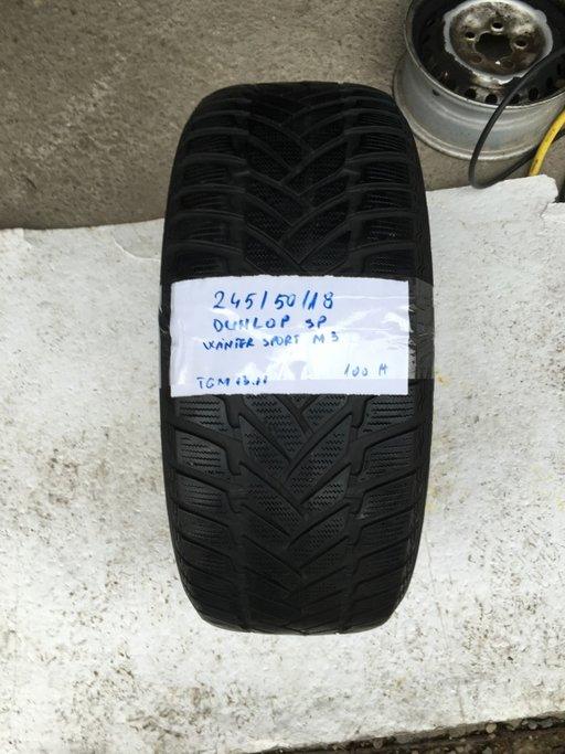 Cauciuc iarna Dunlop Winter Sport M3 - 245/50/18