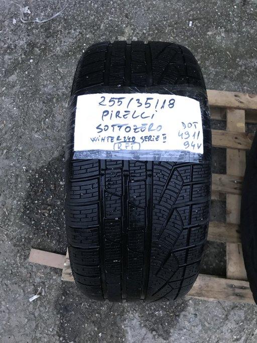 Cauciuc iarna Pirelli Sottozero Winter 240 Serie II - 255/35/18