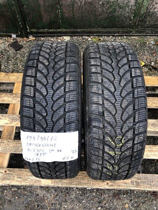 Cauciucuri iarna Bridgestone Blizzak LM32 - 195/55/16