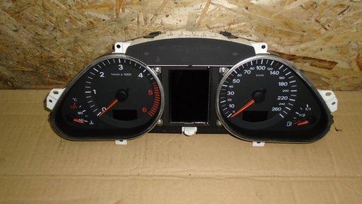 Ceas Bord Audi A6 4F C6 2.7 TDI, automat, cod 4F0920900N - masina volan stanga