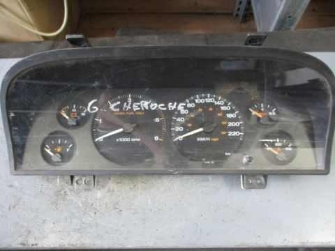 Ceas bord cod 5604076AC - Jeep grand cherokee 2, 3.1td, an 2001