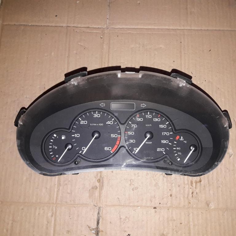 Ceas bord Peugeot 206 2005 1.4 HDI 9656696080