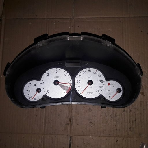 Ceas bord Peugeot 206 2005 1.4 HDI 9656696280
