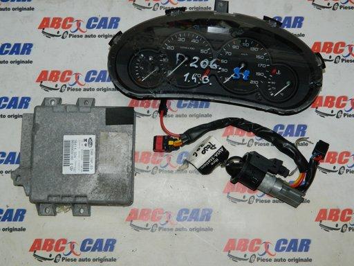 Ceas bord Peugeot 206 cod: 9634961180