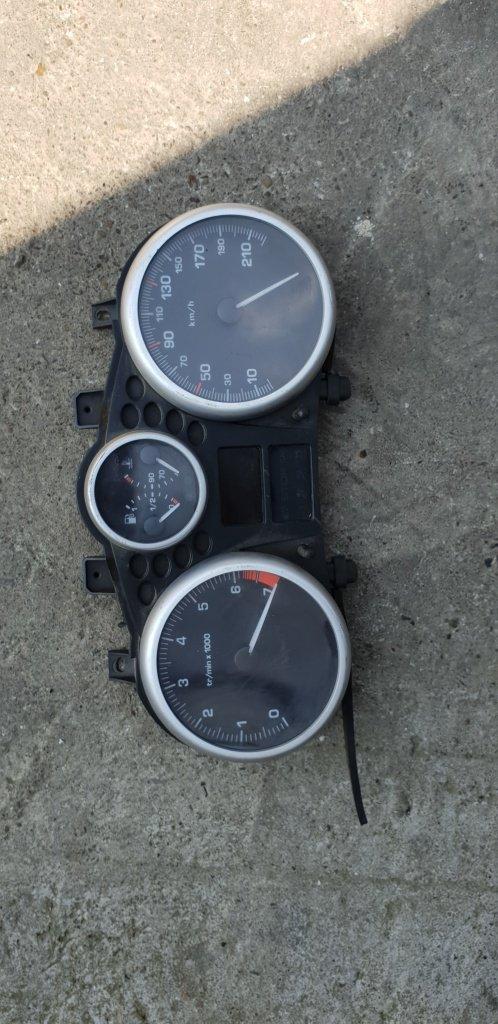 Ceas bord Peugeot, 206, cod produs: 9666636780
