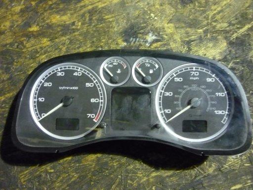 Ceas bord Peugeot 307 1.6 i, 16V , cod 9645768780