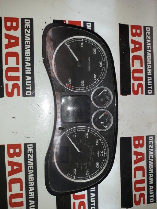 Ceas bord Peugeot 307 1.6HDI cod P9655182980 / 216