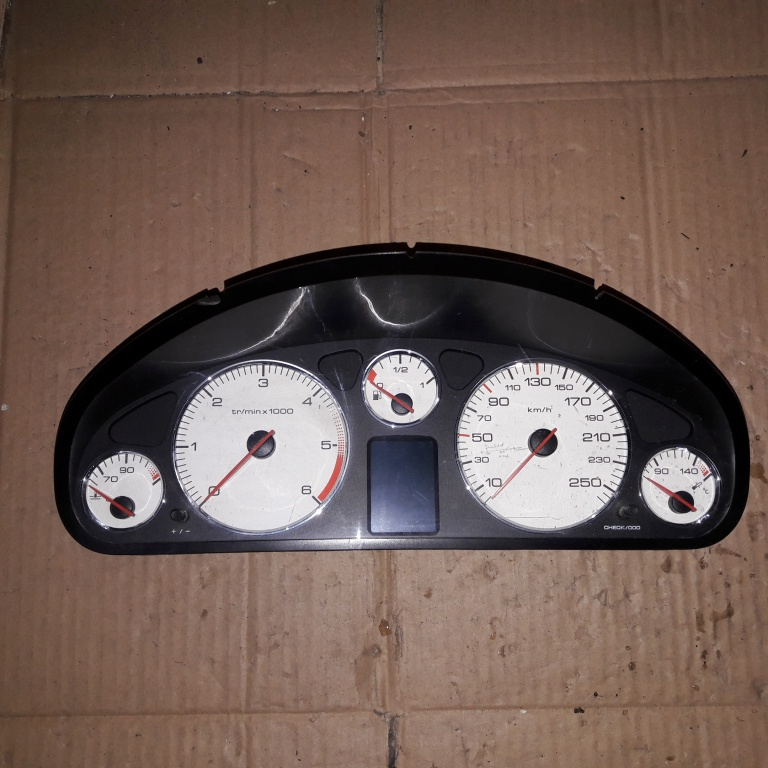 Ceas bord Peugeot 407 2005 2.0 HDI 9658138580 A2C53119649
