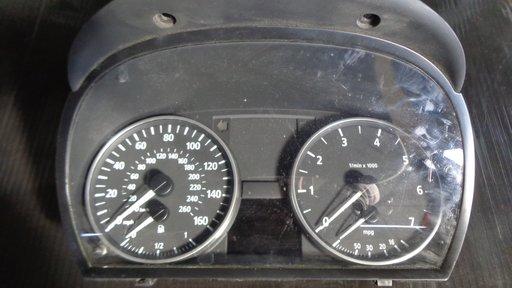 Ceasuri bord in mile BMW E90 320i 150cp an 2006 dezmembrez e90