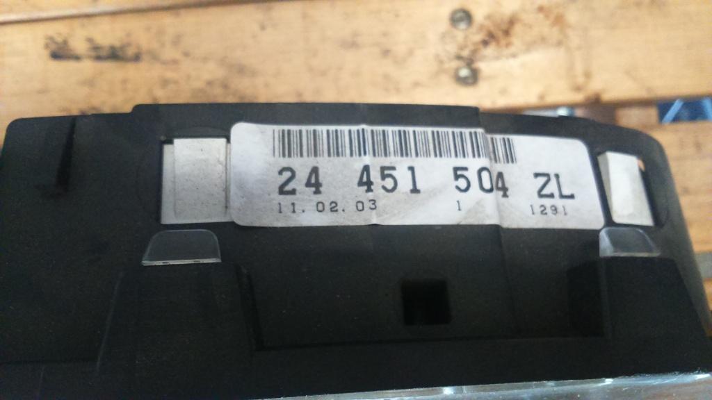 Ceasuri Bord Opel Astra G 1.4 benzina